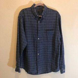 Henry Cottons button down shirt sz L